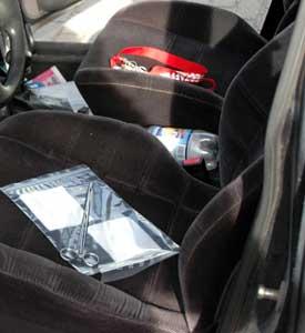 Geruchssicherungsmaterial für ein Auto