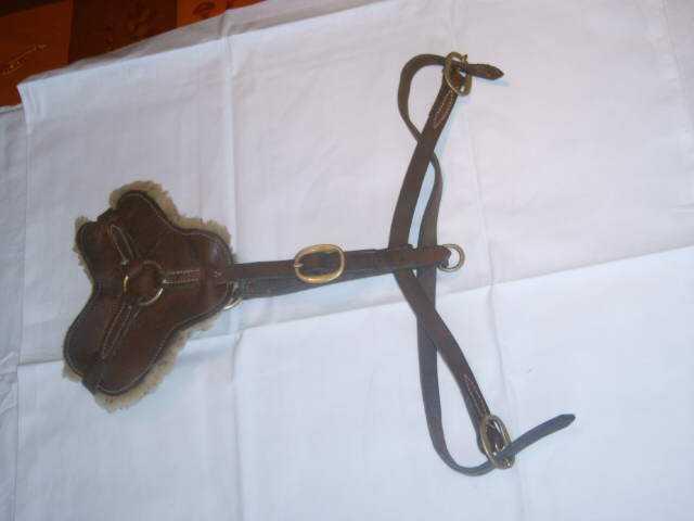 Ledergeschirr mit Brustplatte (NPBA)